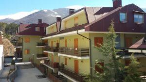 Filettino, bilocale con balcone in paese